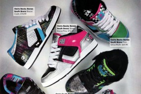Osiris Shoes in Cosmogirl