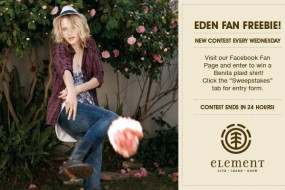 Element Eden Freebies