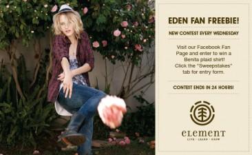 Element Eden Freebies