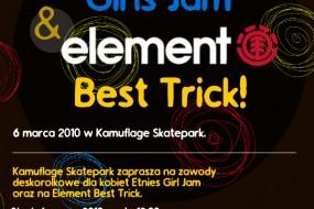 Etnies Girls Jam & Element Best Trick