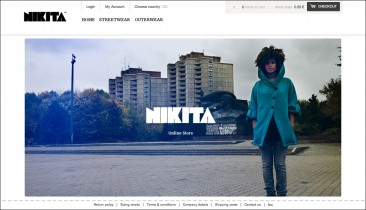 Nikita Clothing Online Store Launch