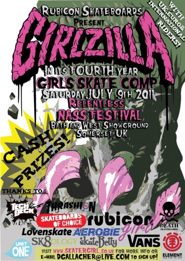Girlzilla Skate Auction Now Open