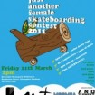 Just Another Female Skateboard Contest