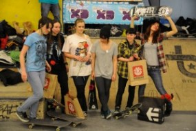 Etnies Girls Jam and Element Best Trick – results