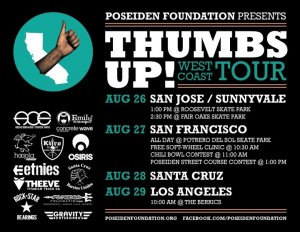 Thumbs Up! West Coast Tour