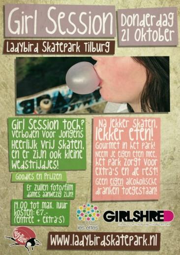 Girls Skate Session @ Ladybird Skatepark