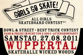 Görls Go Skate Contest