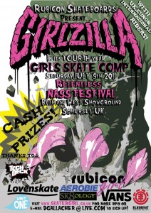 Rubicon Girlzilla 2011 Results