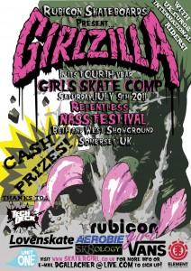 Rubicon Girlzilla 2011 Results