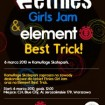 Etnies Girls Jam&Element Best Trick