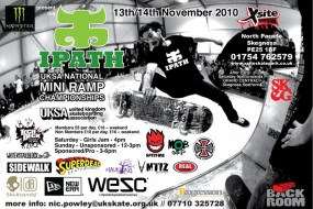 UKSA Mini Ramp Championships TOMORROW!