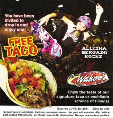 Allysha Offers Taco's