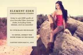Element Eden Summer Contest