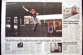 Crossing Boarders in Newspapers