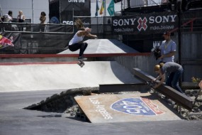 Etnies Girl Eliana at X Games