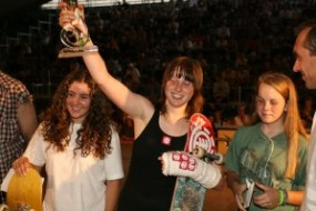Evelien takes 1st at Mystic Cup