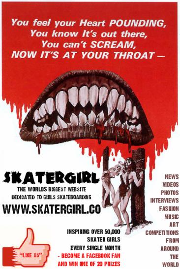 SkaterGirl Screams onto Facebook