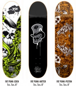 "Win a super stylish ""Eden"" Fat Punk deck"