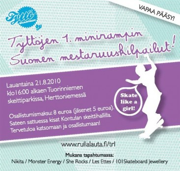 Finnish Miniramp Championships