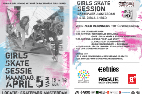 Girls Skate Session Amsterdam