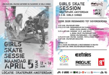 Girls Skate Session Amsterdam