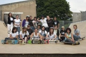 St Albans Girl Skate Jam UK 07