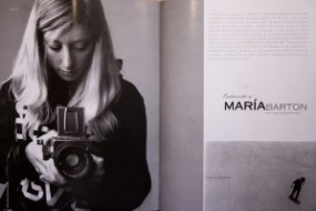 Maria Barton interview in HEBE magazine
