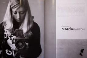 Maria Barton interview in HEBE magazine