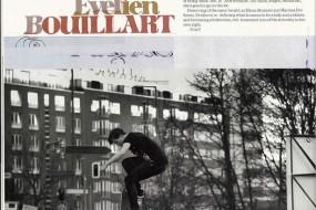 Evelien Boulliart in Kingpin magazine