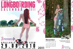 Ladies of Longboarding Calendar