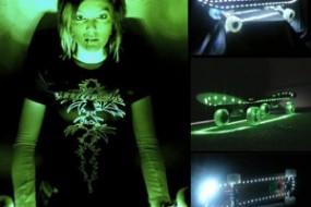 Light LED Skateboards