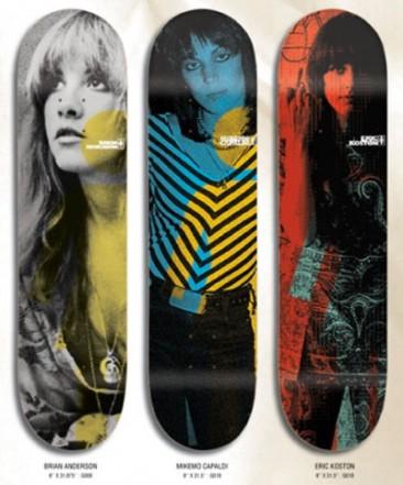 70's Rock Chick Skateboards
