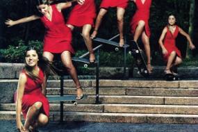 Leticia Bufoni in Glamour magazine