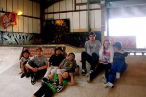 Girls @ Unit 1 Summer Skate Camp