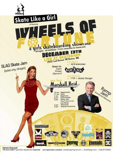 SLAG presents Wheels of Fortune Jam