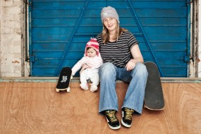 Rad Dads roll over for the Skater Moms!