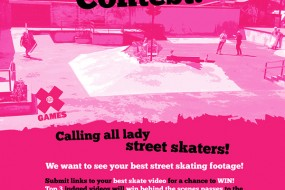 Calling all Lady Street Skaters!!