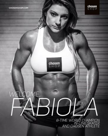 Fabiola da Silva is Chosen