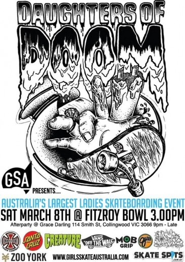 Daughters of Doom comp Australia