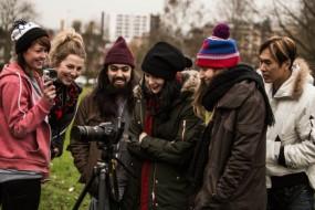 Kate Nash Music Video at Harrow Skatepark