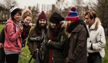 Kate Nash Music Video at Harrow Skatepark
