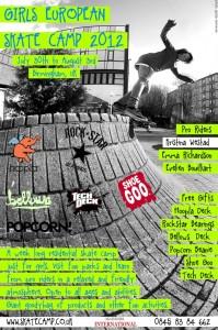 (lgc) girls skate camp poster ft. kristina westad