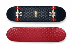 Casely-Hayford Quilted Leather Skateboards