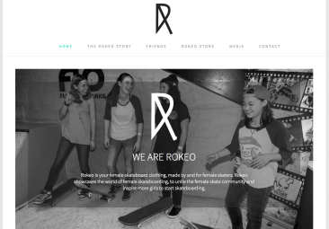 Rokeo Skate interview and website launch