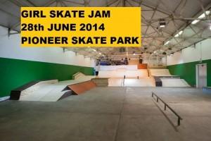 girl skate jam 2014 pioneer