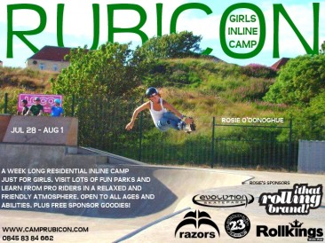Girls Inline Camp 2014