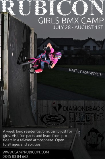 Girls BMX Camp 2014