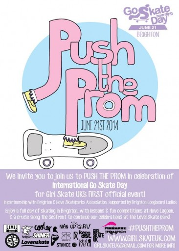 Go Skateboarding Day – Push The Prom