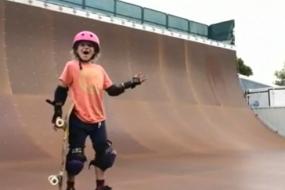 9 Year Old Sabre Norris Lands 540