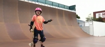 9 Year Old Sabre Norris Lands 540